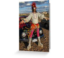 Punk Glam Greeting Card