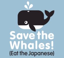 Save the Whales! Eat the Japanese Kids Clothes