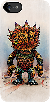 Acidmagmatron Kaiju Monster by ChetArt