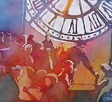 Clock Cafe by JennyArmitage