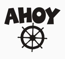 Ahoy Wheel Sailing Design by theshirtshops