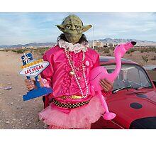 Yoda in Vegas Photographic Print