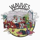 wavves simpsons sofa by dontclothing