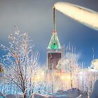 Kymijärvi power plant by Kristian Tuhkanen