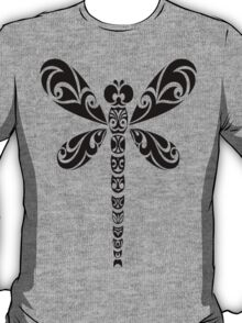 Tribal Dragonfly Tattoo T-Shirt