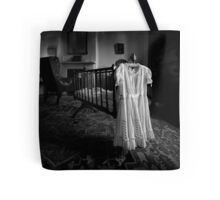 A White Dress In The Nursery Tote Bag