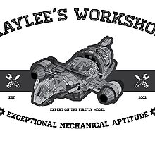 Kaylee's Workshop by tombst0ne