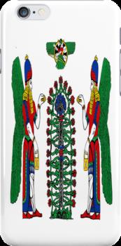 Assyrian Winged Genius by AssyrianGear