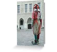 A Jester Greeting Card