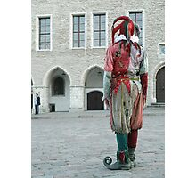 A Jester Photographic Print