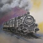 SteamTrain. by marie stewart