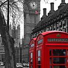 London - Red by stevebluey