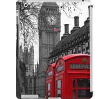 London - Red iPad Case/Skin