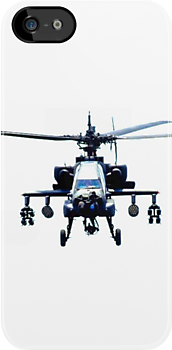 Apache AH-64 Attack Helicopter iPhone Case by jlerner