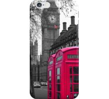 London - Pink iPhone Case/Skin