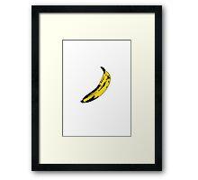 Top banana Framed Print