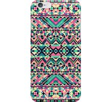 Pink Turquoise Girly Aztec Andes Tribal Pattern iPhone Case/Skin