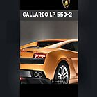 Lamborghini Gallardo 550-2 iPhone cover by jlerner