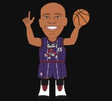 NBAToon of Vince Carter, player of Toronto Raptors by D4RK0