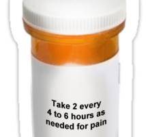 Not A Drug Addict! Sticker