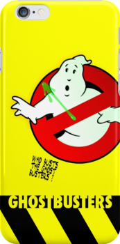 Who Busts The Ghost Busters? (yellow) v3 by btnkdrms