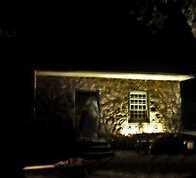 The Witches Stone House, Philipsburg Plantation at Halloween by Jane Neill-Hancock