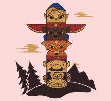 64bit Totem Pole Kids Clothes