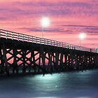 Grange Jetty: A fire in the sky by BBCsImagery