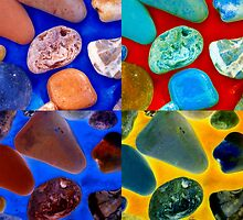 Rock Collage by Tamarra