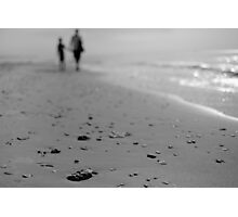 walking by line Photographic Print