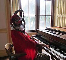 Jester Playing Piano by jollykangaroo