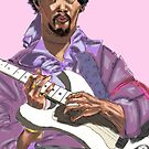Jimmi Hendrix by antdog13