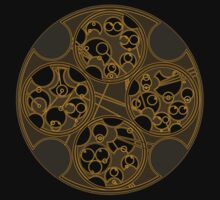 Tick-Tock Poem in Circular Gallifreyan by Barbora  Urbankova