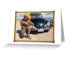 Kooky Artist Greeting Card