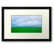 Country Road Abstract Framed Print