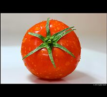 Solanum Lycopersicum - Fresh Red Ripe Tomato by © Sophie W. Smith
