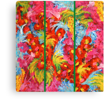 Abstract Triptych  Canvas Print