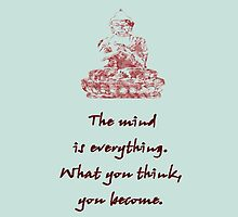 Buddha Quote iPhone by wlartdesigns