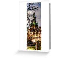 Fairytale Tower - Vertical Panorama Greeting Card
