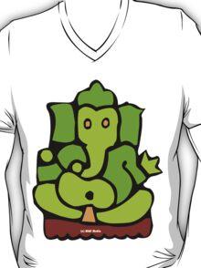 Green Ganesh T-Shirt T-Shirt