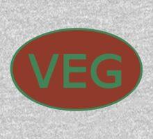 Vegan Vegetarian Symbol T-Shirt Kids Clothes