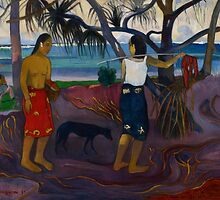 Under the Pandanus, 1891 by Bridgeman Art Library
