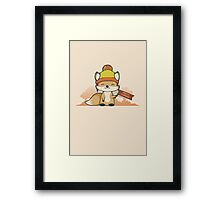 Pretty Cunning Framed Print