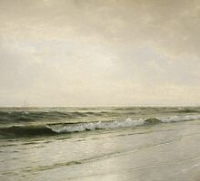 Quiet Seascape, 1883 by Bridgeman Art Library