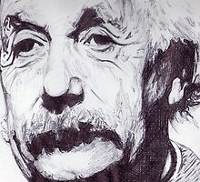 Albert Einstein  by demoose