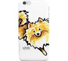 Cute Cream Pomeranian iPhone Case/Skin