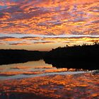 Sunset, Berkley River, Kimberleys, WA by Fred1947