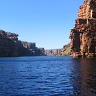 King George River, Kimberleys, WA by Fred1947