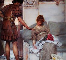 A Silent Greeting by Sir Lawrence Alma Tadema by Adam Asar
