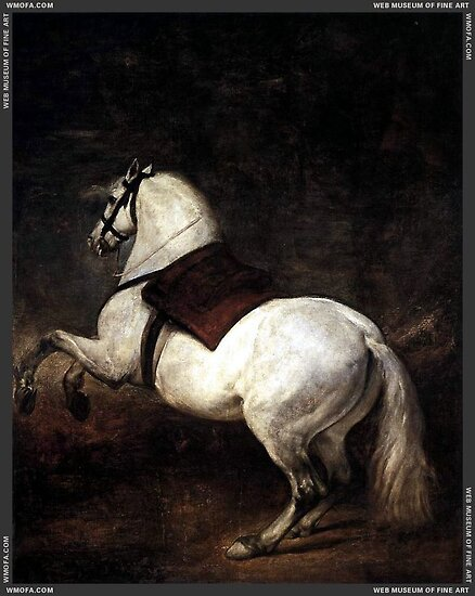 A White Horse by Diego Velázquez by Adam Asar